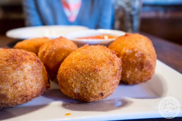 Arancini di riso at Da Mikele by Luzzo's in Tribeca, NYC, New York