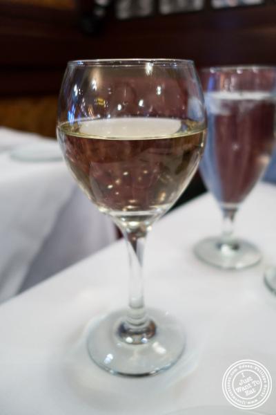 Sauternes wine atRue 57 in NYC, New York