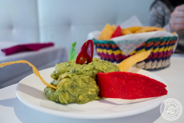 Guacamole at Sabores, Mexican restaurant in Hoboken, NJ