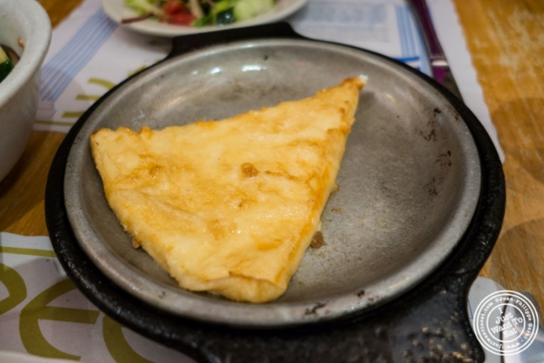 Saganaki at Uncle Nick's, Greek Restaurant in NYC, New York