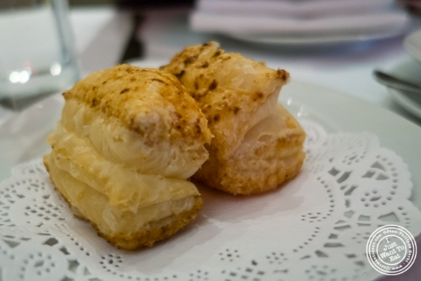 Puff pastry at Tamarind in TriBeCa, NYC, New York