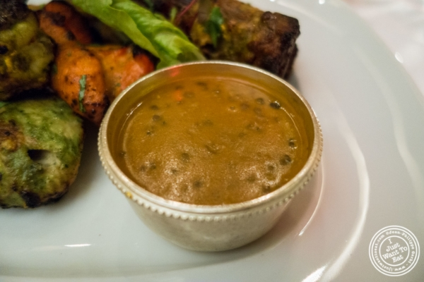 Dal makhni from Tandoori mixed grill at Tamarind in TriBeCa, NYC, New York