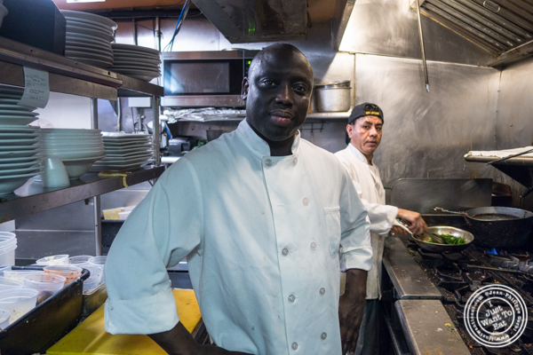 Chef Cisse at Ponty Bistro in NYC, New York