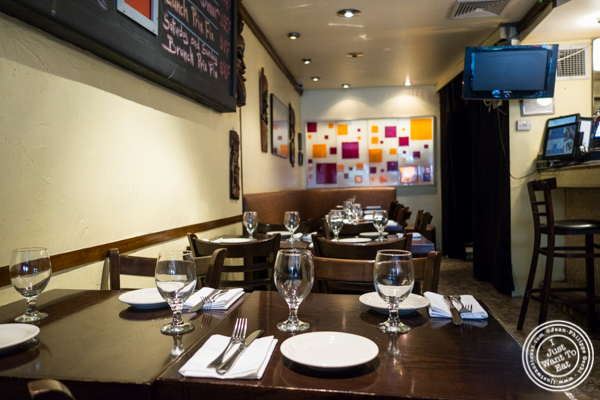 Dining room at Ponty Bistro in NYC, New York