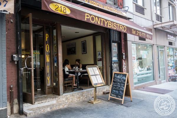 Ponty Bistro in NYC, New York