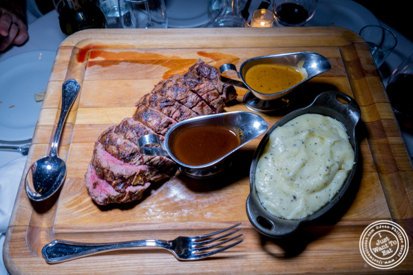 Chateaubriand at Bagatelle in the Meatpacking District, NYC, New York
