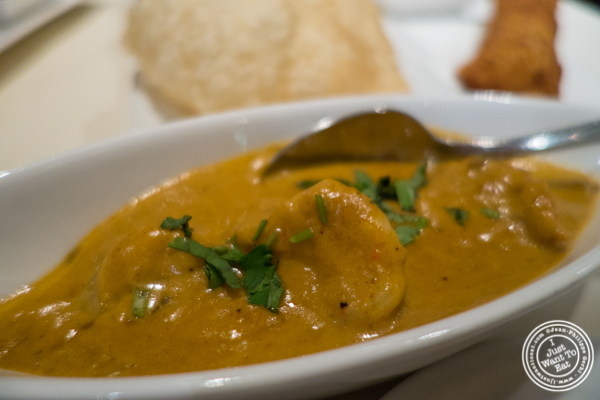 Chingri Malai at Haldi, Indian restaurant in Curry Hill, NYC, New York