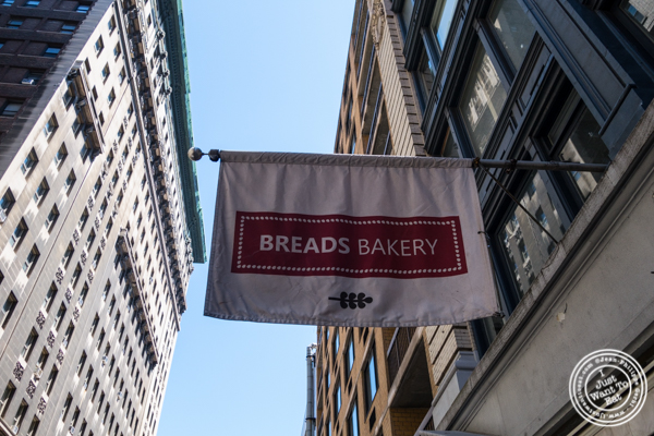 Breads bakery in NYC, New York