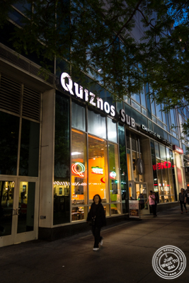 Quiznos subs in NYC, New York