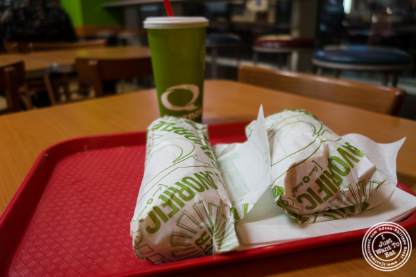 Hoagies at Quiznos subs in NYC, Ne  w York