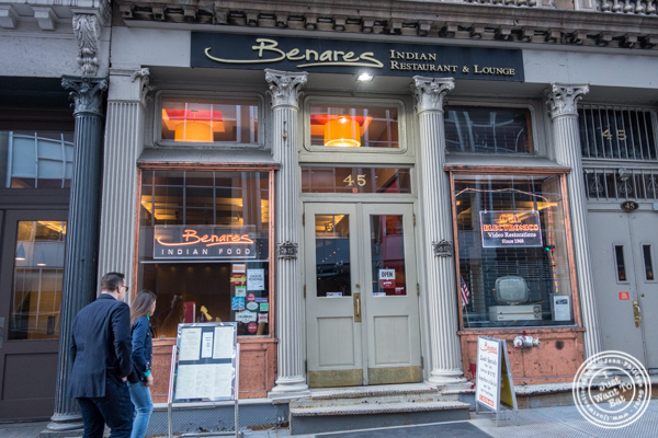 Benares, Indian restaurant in TriBeCa, NYC, New York