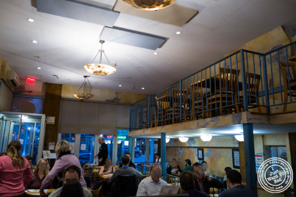 Dining room at Uncle Nick's, Greek Restaurant in NYC, New York