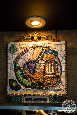 Decor at La Sirene, French Restaurant, NYC, New York