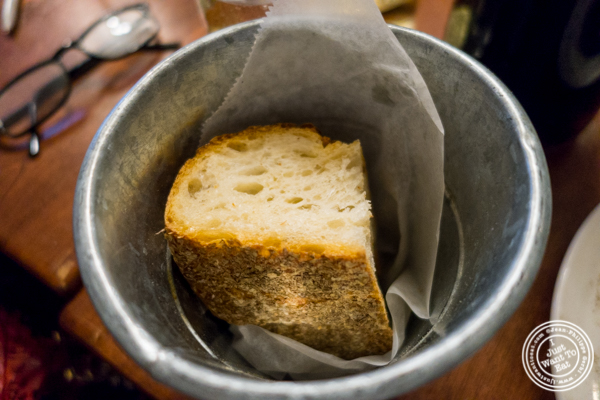 bread at La Sirene, French Restaurant, NYC, New York
