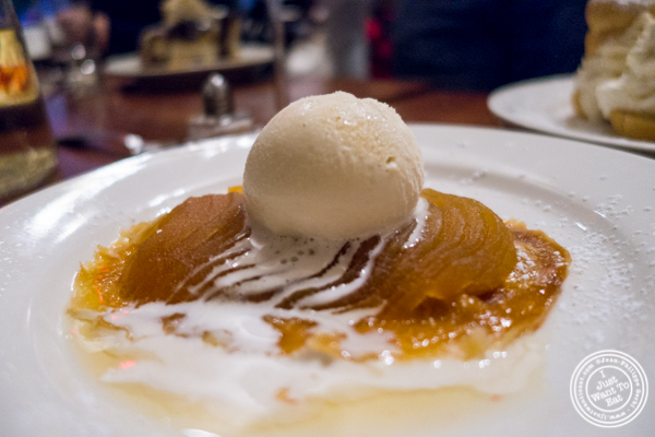 Tarte tatin at La Sirene, French Restaurant, NYC, New York