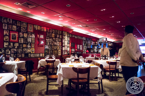 Dining room at Strip House in NYC, New York