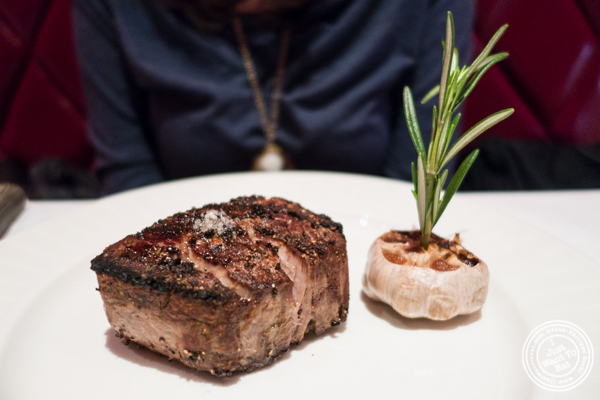 Filet mignon at Strip House in NYC, New York