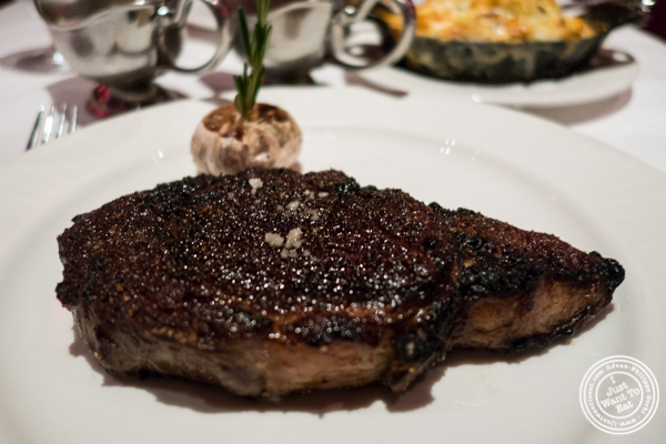 Ribeye at Strip House in NYC, New York