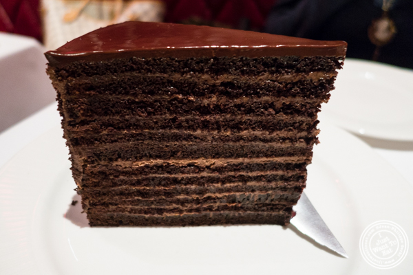 Strip House  Layer Chocolate Cake