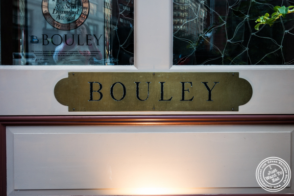Bouley in TriBeCa, NYC, New York