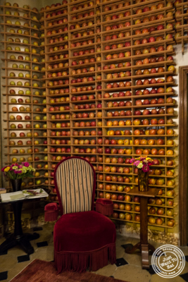 Entrance at Bouley in TriBeCa, NYC, New York