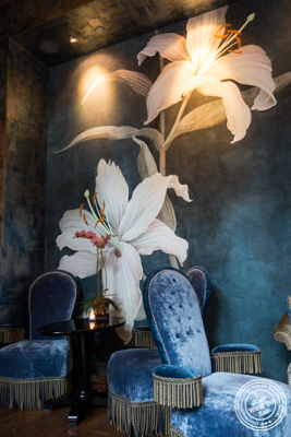 Lounge at Bouley in TriBeCa, NYC, New York