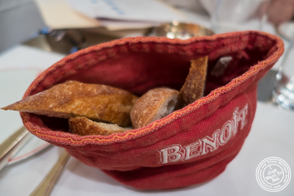 Bread at Benoit in NYC, New York