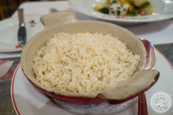 Riz pilaf at Benoit in NYC, New York