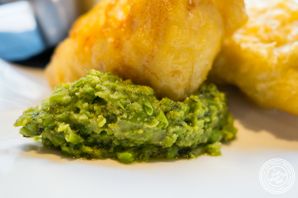 Mushy peas at The Harold in NYC, New York