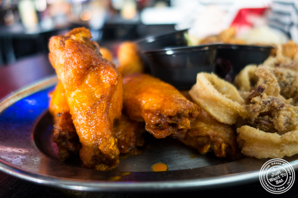 Chicken wings at 1Republik in Hoboken, New Jersey