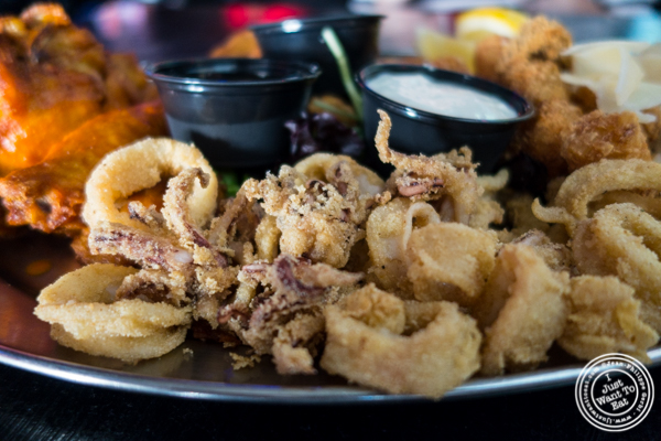 Fried calamari at 1Republik in Hoboken, New Jersey