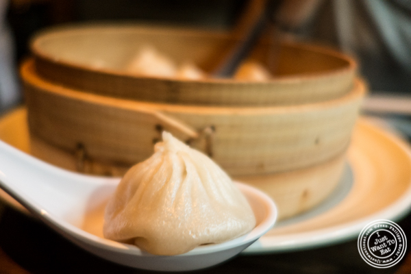 Soup dumplings at The Bao in NYC, New York