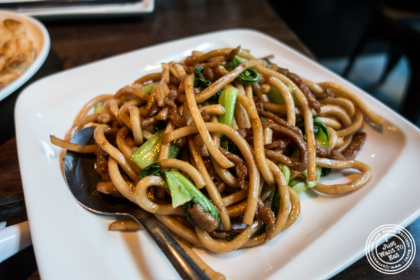 Shanghai fried noodles at The Bao in NYC, New York