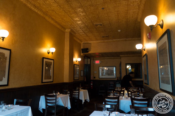 Dining room at Hudson Tavern in Hoboken, NJ