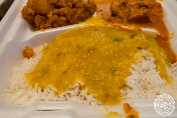 Yellow dal at Patiala in NYC, New York