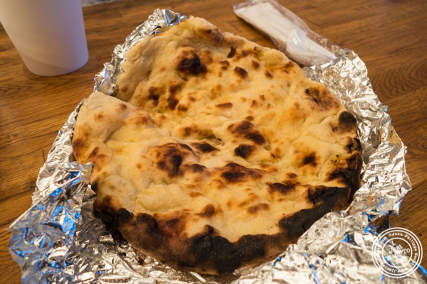 Naan at Patiala in NYC, New York