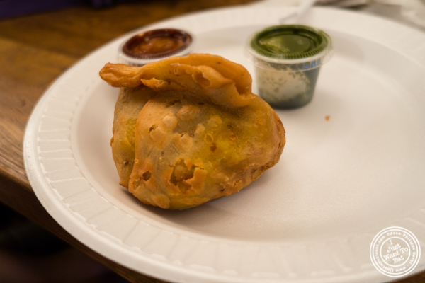 Samosa at Patiala in NYC, New York