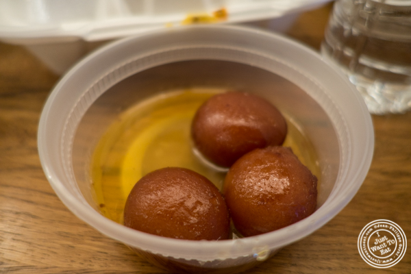 Gulab Jamun at Patiala in NYC, New York