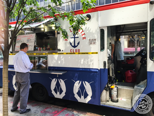 NY Lobster Club Truck in NYC, New York