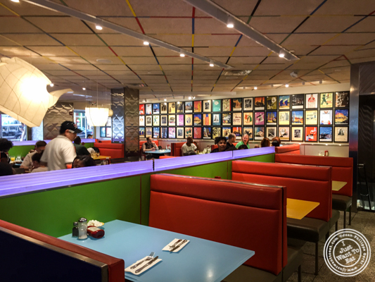 Dining room at Tick Tock Diner in NYC, New York