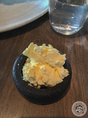 Virgin butter at Noma in Copenhagen, Denmark