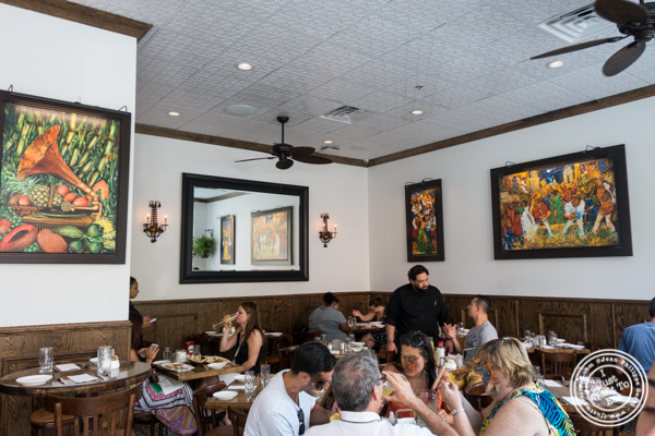 Dining room at La Isla Uptown in Hoboken, NJ