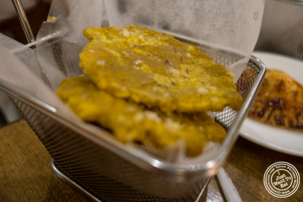 Tostones at La Isla Uptown in Hoboken, NJ