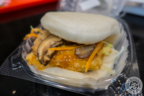 Tofu veggie bao at C Bao Asian Buns and More in NYC, New York