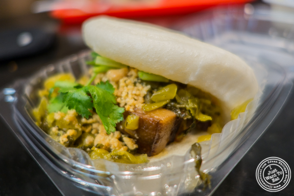 Original bao at C Bao Asian Buns and More in NYC, New York