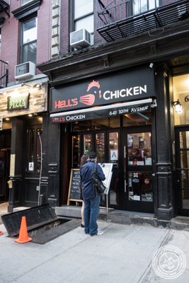 Hell's Chicken in NYC, New York
