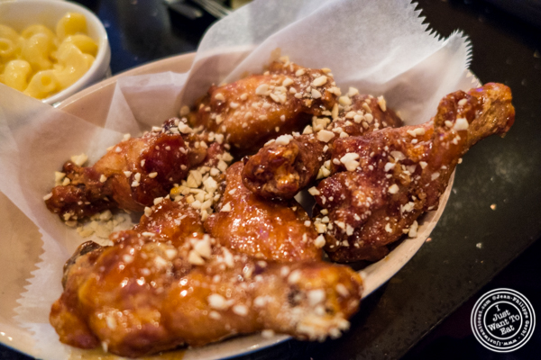 Korean fried chicken at Hell's Chicken in NYC, New York