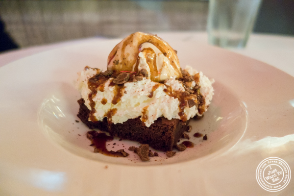 Sundae at Blue Water Grill in NYC, New York