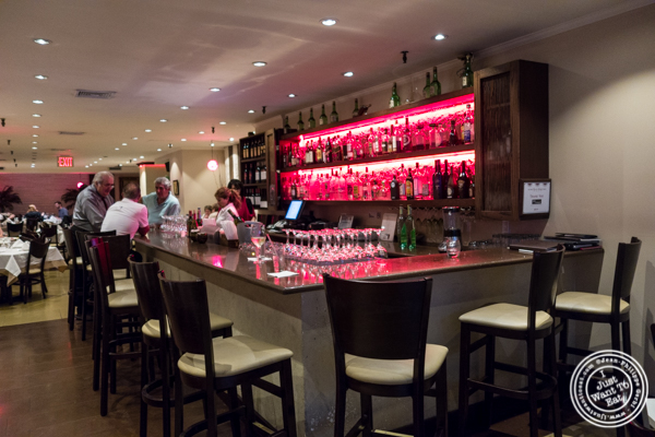 Bar at Byblos, Lebanese restaurant in NYC, New York