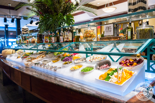 Buffet at Churrascaria Plataforma in NYC, New York